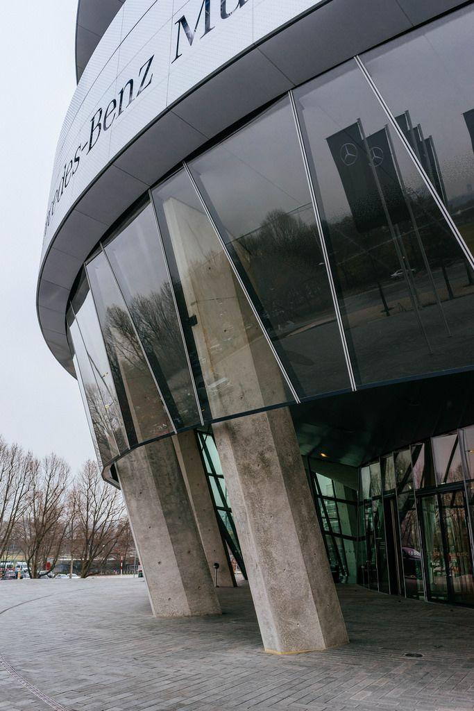 Mercedes-Benz Museum building in details / Mercedes-Benz Museum Gebäude im Detail