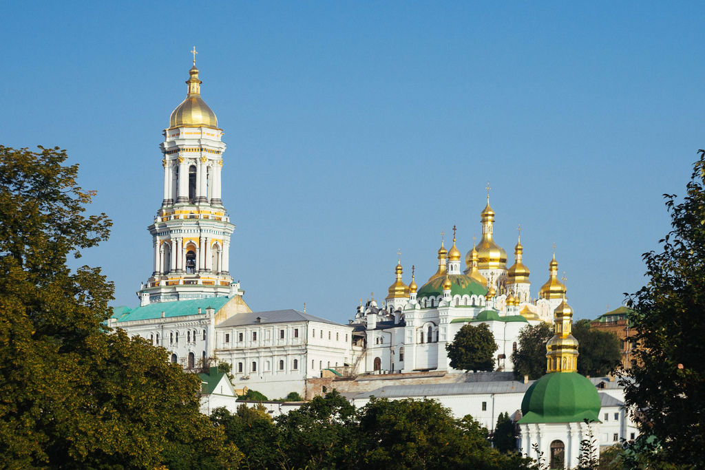 Mesmerizing Kiev Pechersk Lavra complex / Mesmerizing Kiewer Lawra-Komplex