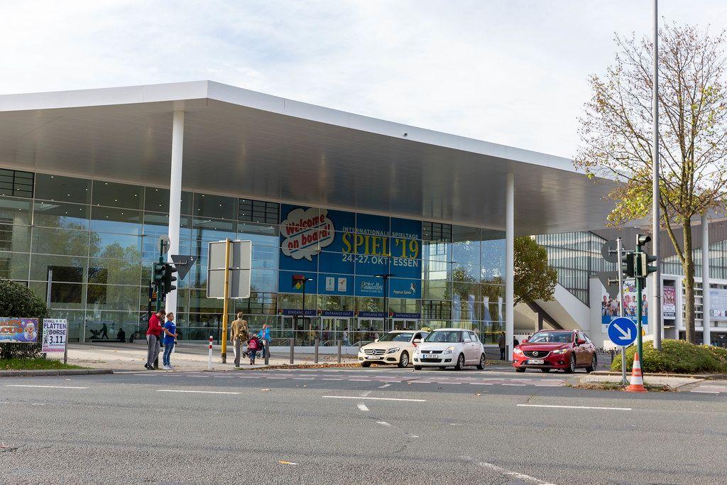 Messegebäude in Essen zur Zeit der Spiel 2019