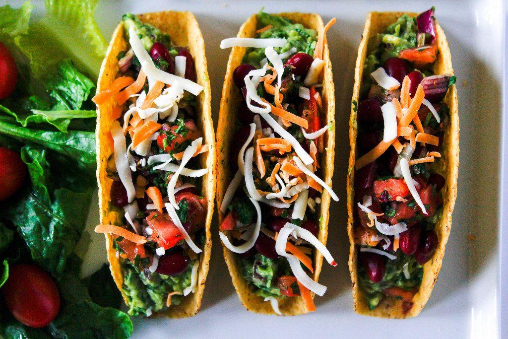 Mexican vegetarian Tacos