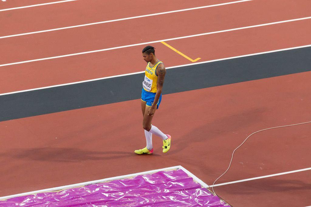 Michel Torneus (Weitsprung) bei den IAAF Leichtathletik-Weltmeisterschaften 2017 in London