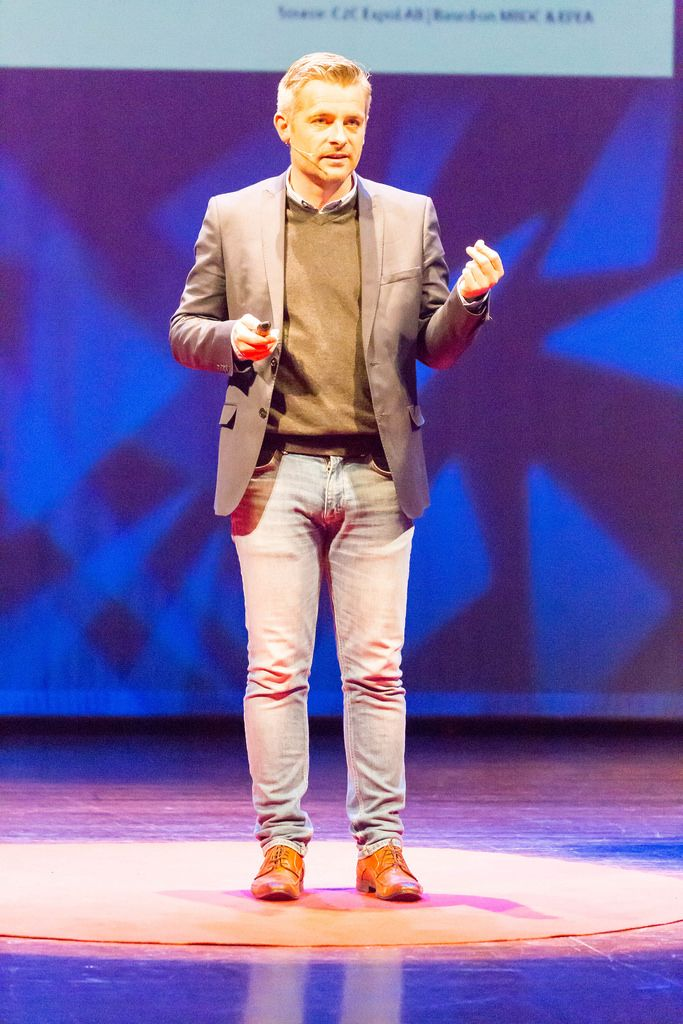Michel Weijers adding value to your life and entertainment - TEDxVenlo 2017