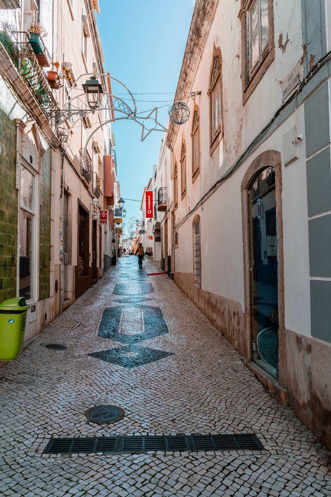 Mideval street of Lagos, Portugal (Flip 2019) (Flip 2019) Flip 2019