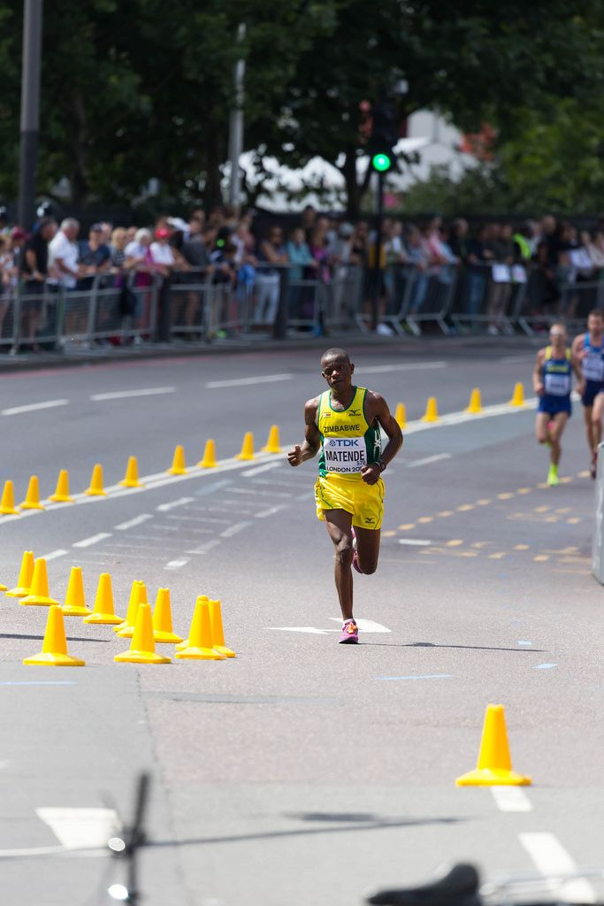 Millen Matende (Marathon Finale) bei den IAAF Leichtathletik-Weltmeisterschaften 2017 in London