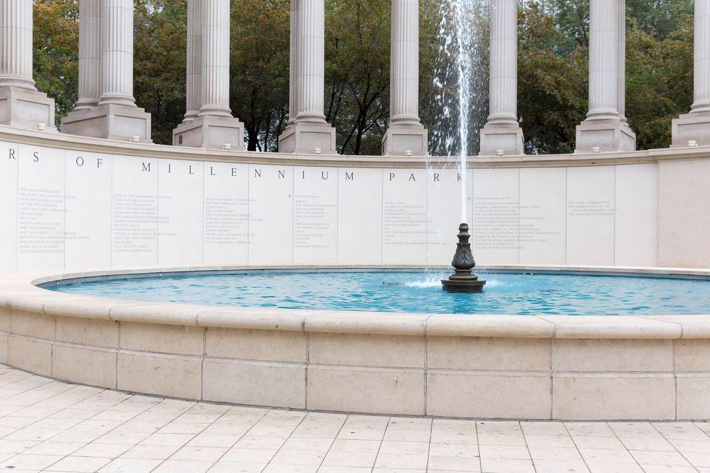 Millennium Monument im Wrigley Square, Chicago