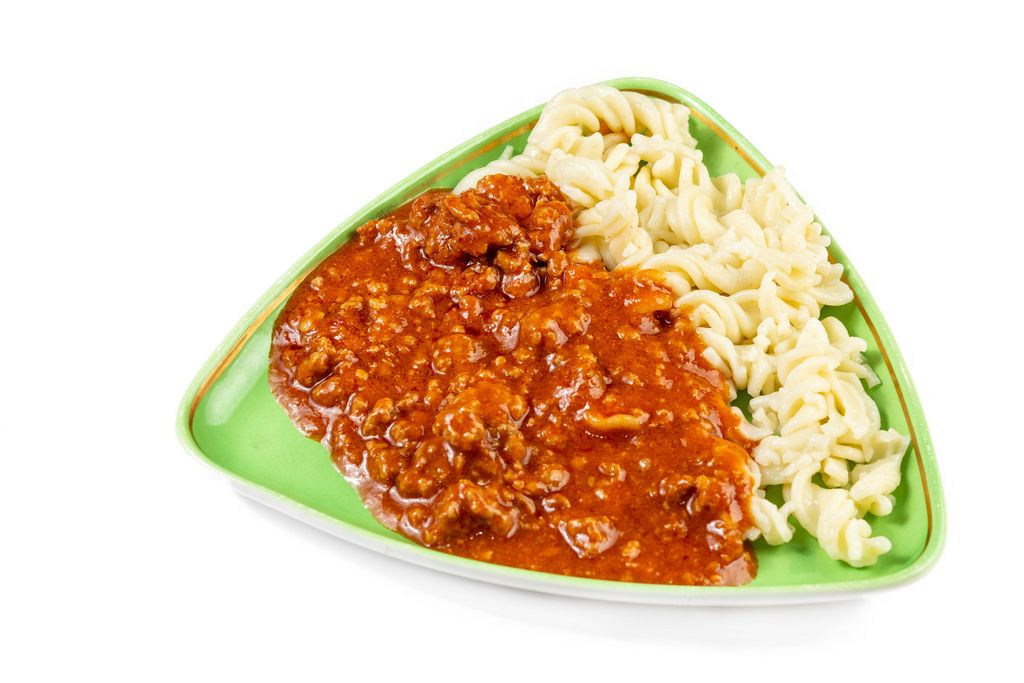 Minced Meat Bolognese Sauce with Pasta
