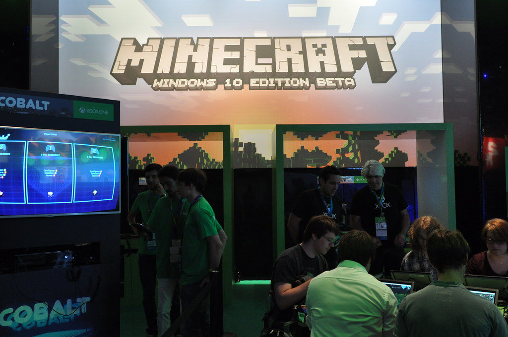 Minecraft für Windows 10
