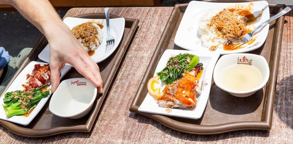 Mittagsessen in Chinatown