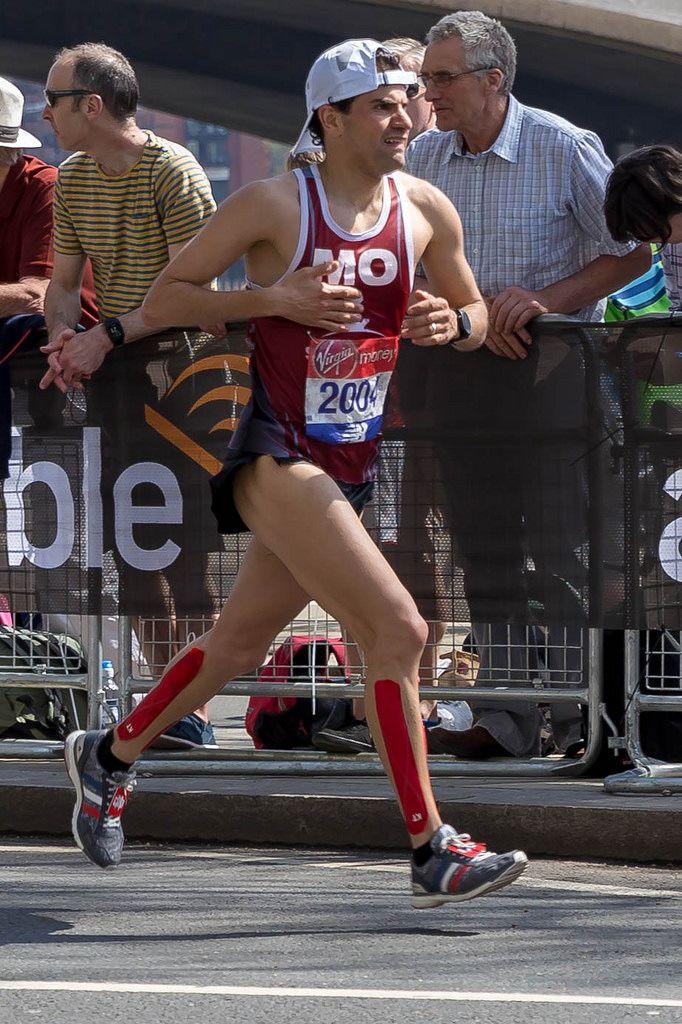 Mo'ath Alkhawaldeh - London Marathon 2018