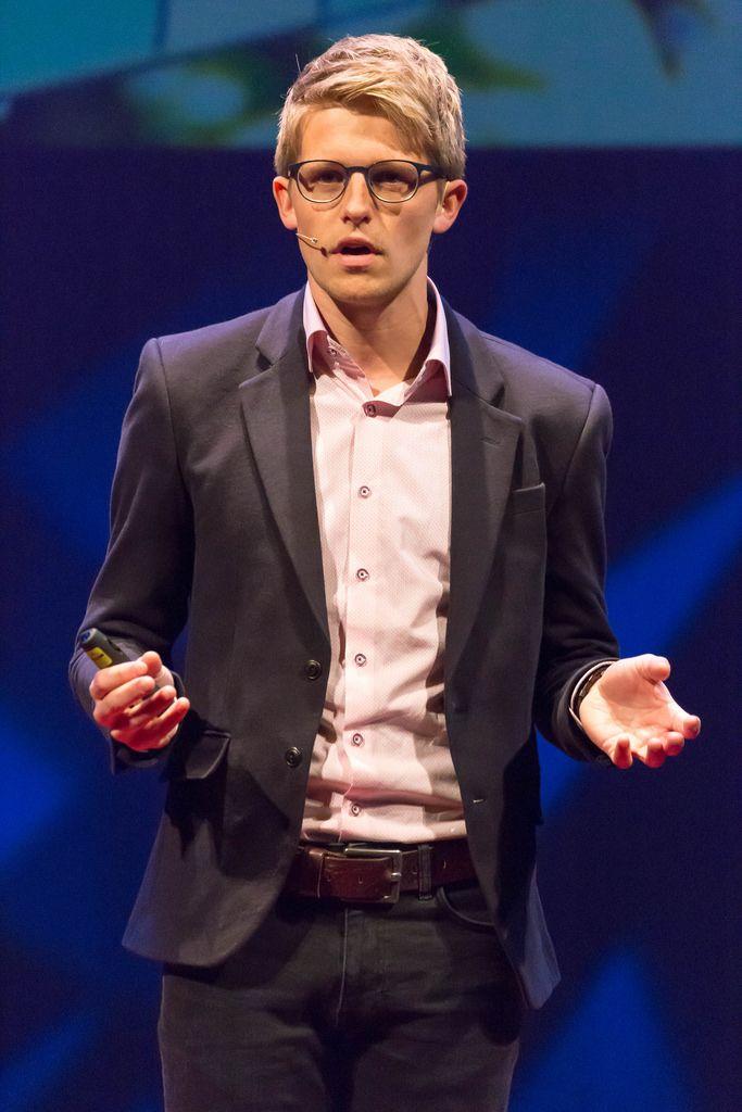 Moderator at TEDxVenlo 2017