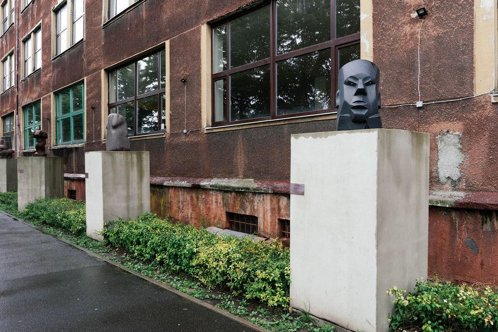 Modern art on the street / Moderne Kunst auf der Straße