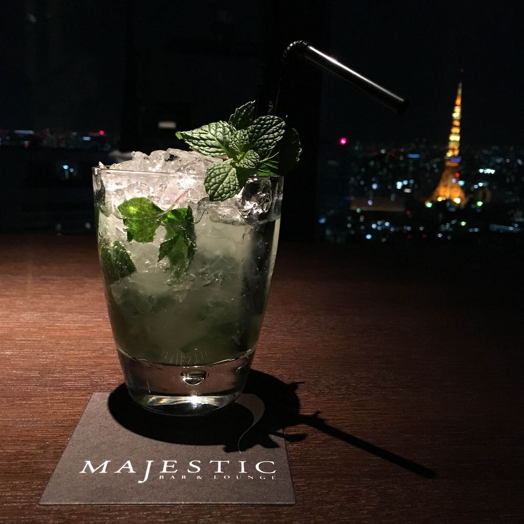 Mojito in der Majestic Bar & Lounge Tokio