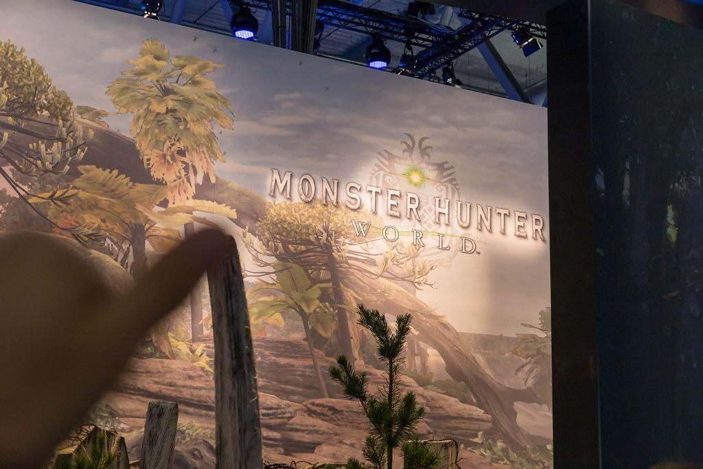 Monster Hunter World Plakat - Gamescom 2017, Köln