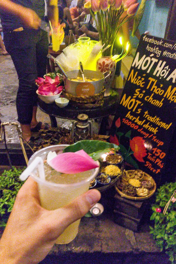 MOT traditional herbal Drink Hoi An