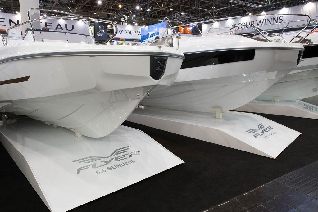 Motorboote von Flyer, boot Düsseldorf 2017