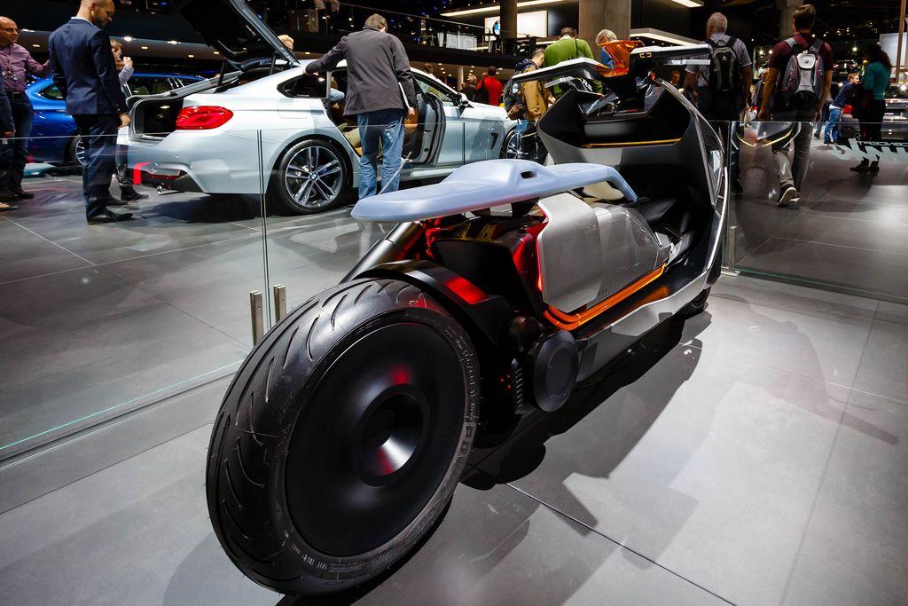 Motorrad-Konzept Link von BMW  bei der IAA 2017