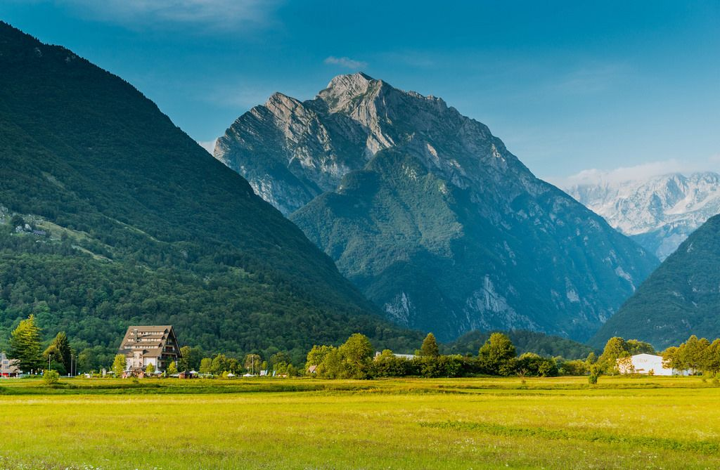 Mountain in Bovec