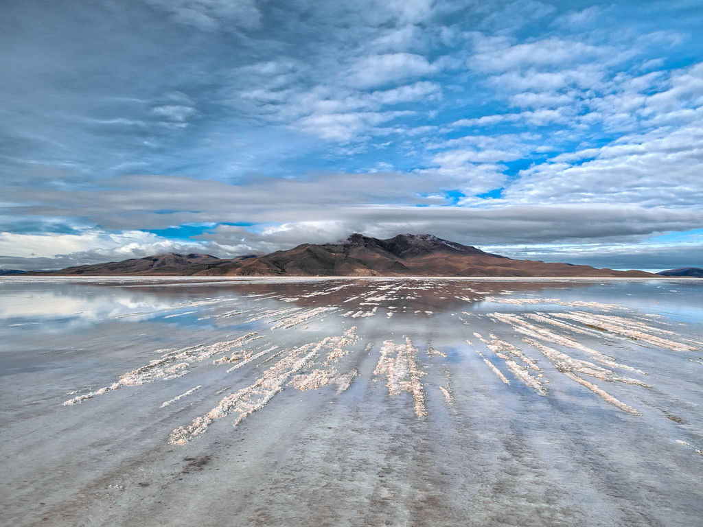 Mountain reflection / Gebirgsreflexion