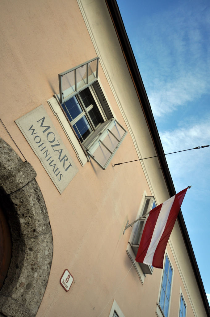 Mozarts Wohnhaus, Salzburg