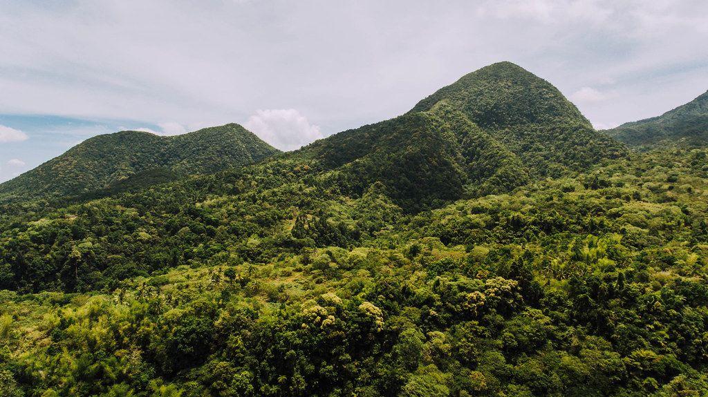 Mt. Mandalagan mountain ranges