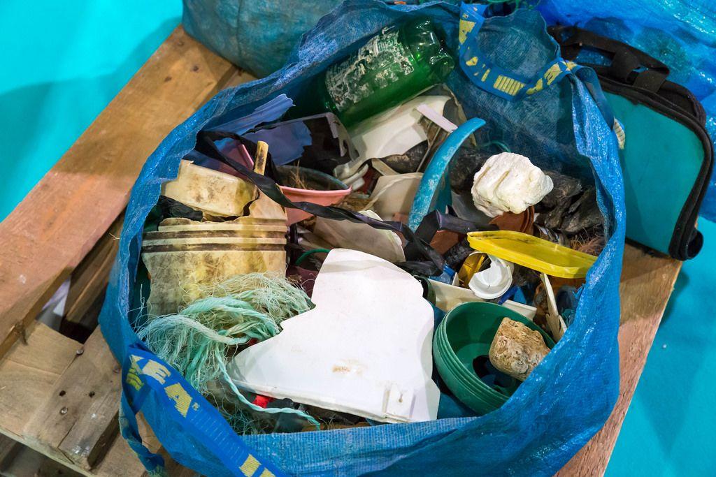Müll aus dem Meer