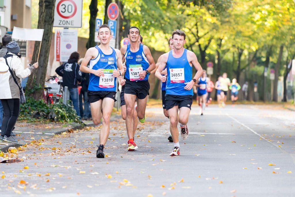 Müller Jonas, Benouaret Bachir, Metcalfe Alan - Köln Marathon 2017