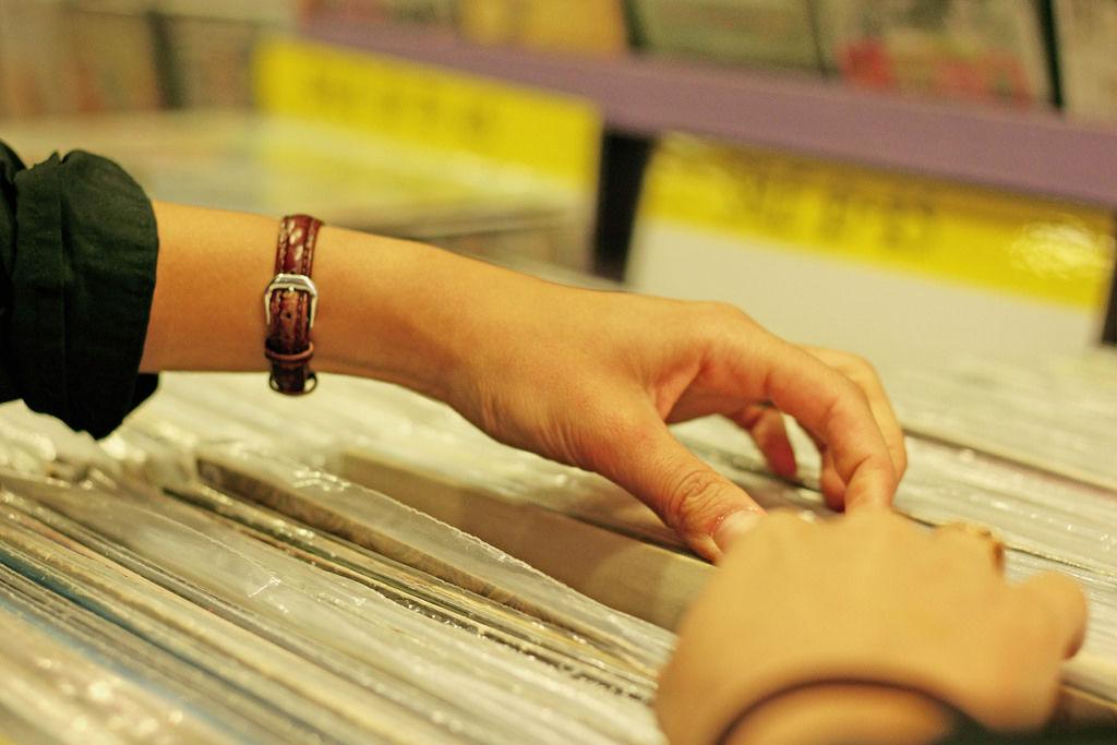 Musikgeschäft / Schallplatten / Music Store