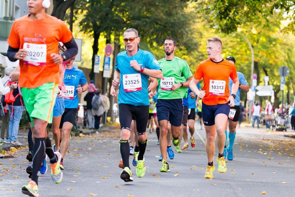 Mutiria Robbie, Ippich Sven, Herber Eric, Thiele Danny - Köln Marathon 2017