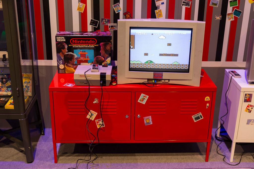 NES mit Super Mario
