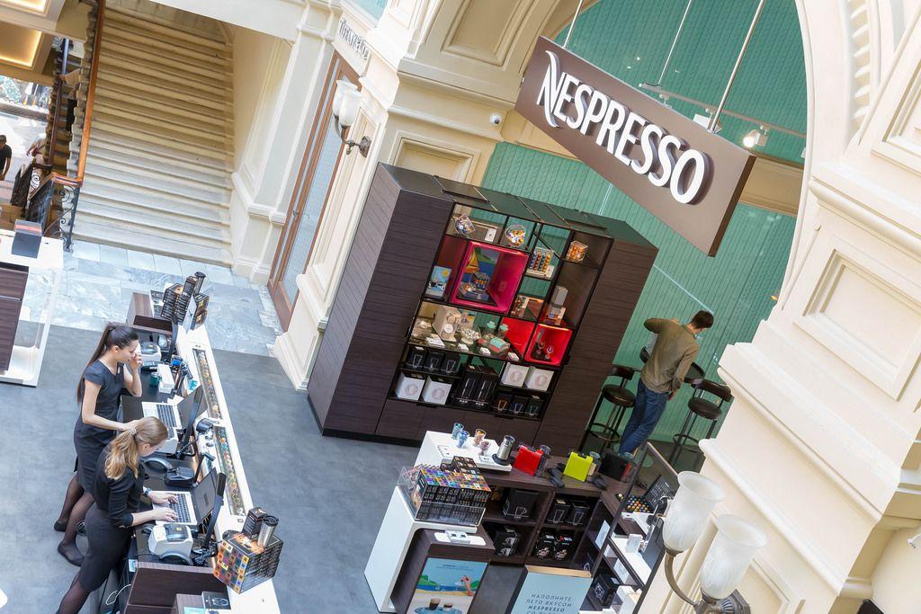 Nespresso-Shop in Moskau