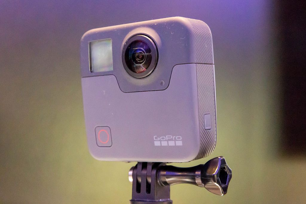 Neue Action Kamera GoPro Fusion an der Photokina in Köln