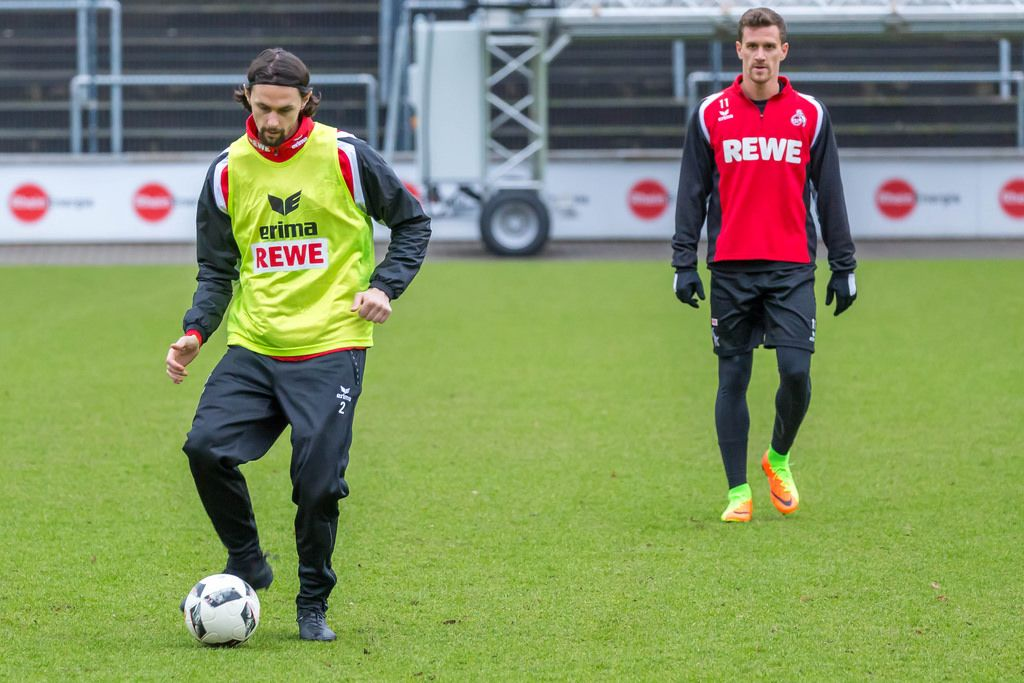 Neven Subotic with Simon Zoller (German Bundesliga)