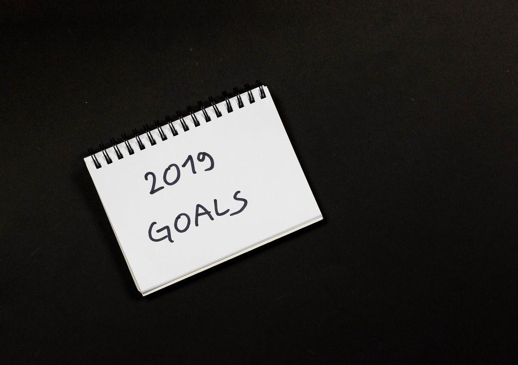 New year 2019 goals