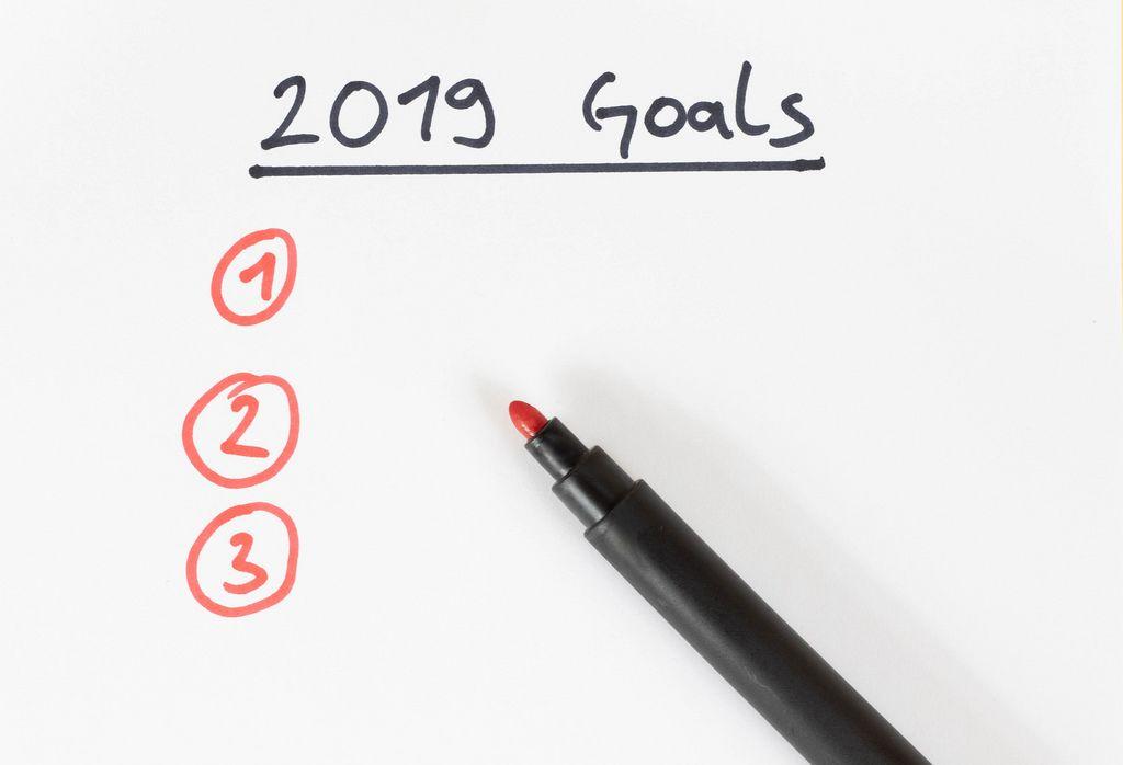 New Year goals 2019