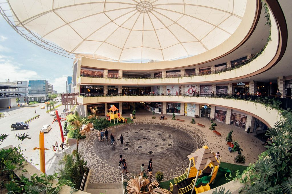 Newly Constructed Festivewalk Mall in Iloilo City
