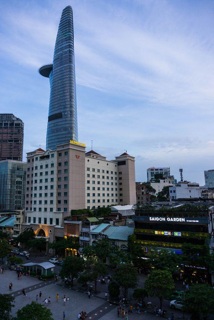 Nguyen Hue Fussgängerzone in Saigon