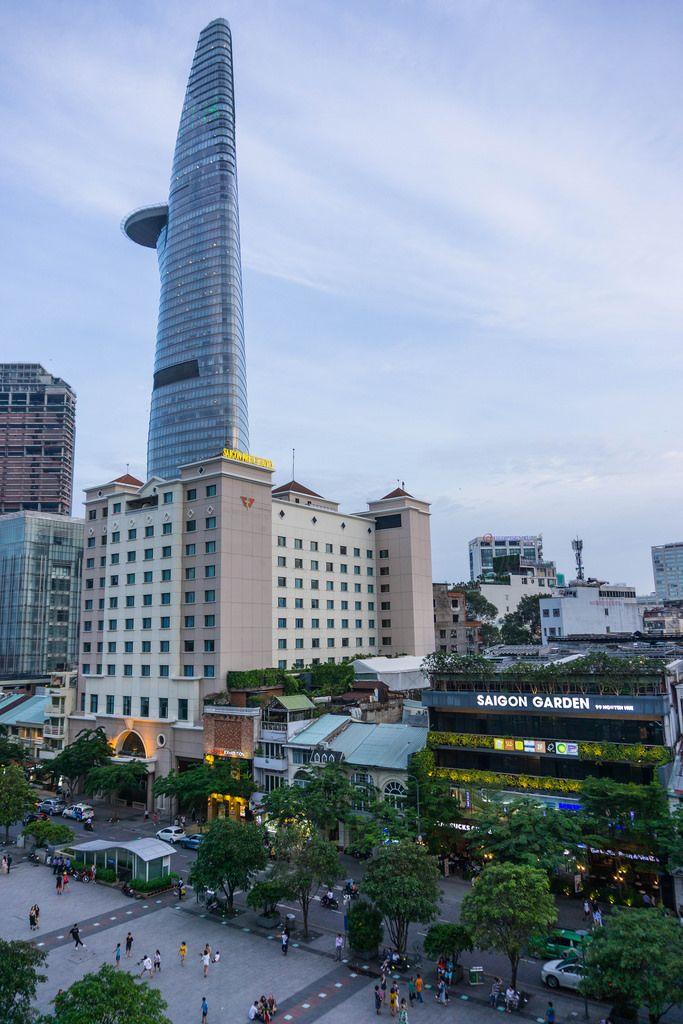 Nguyen Hue Walking Street in Saigon