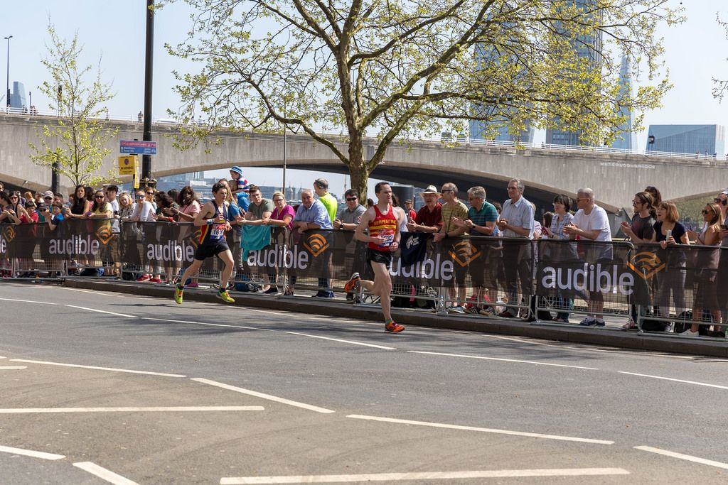 Nicolas Besson, Tom Aldred - London Marathon 2018