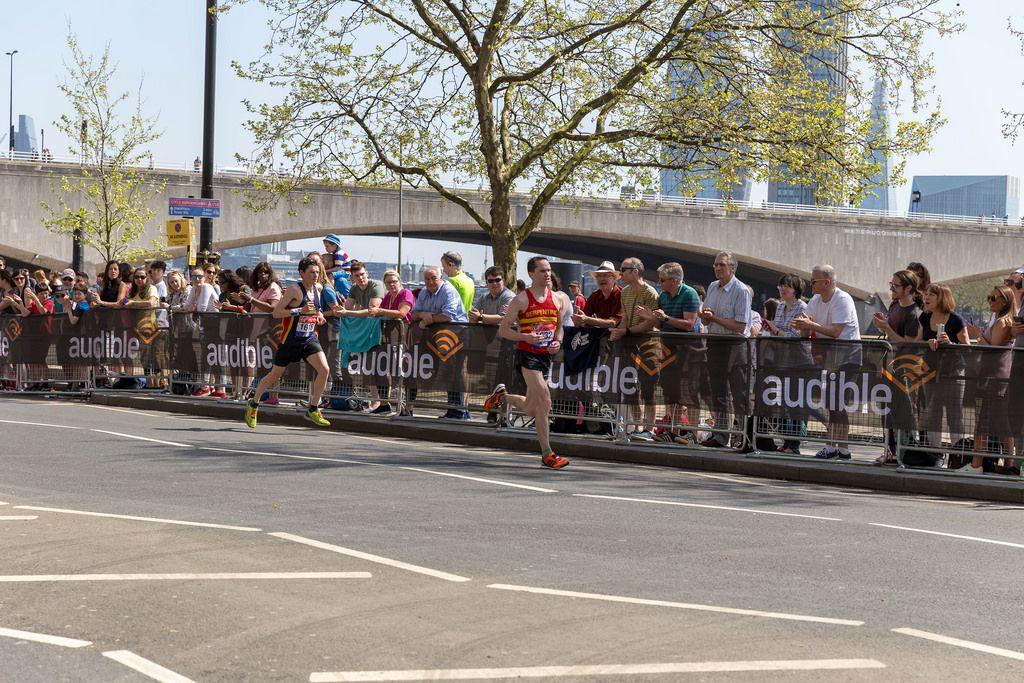 Nicolas Besson, Tom Aldred - London Marathon 2018