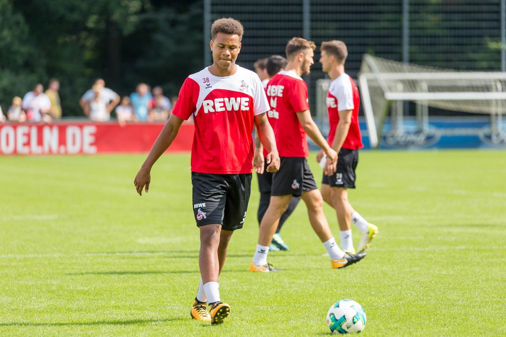 Nikolas Nartey (1. FC Köln 2017)
