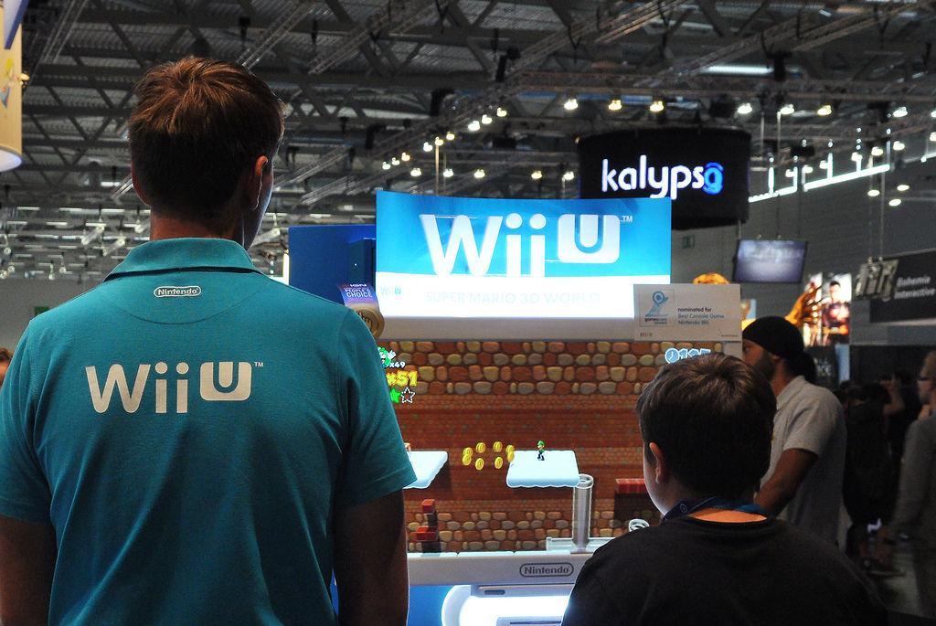 Nintendo Wii U @ Gamescom