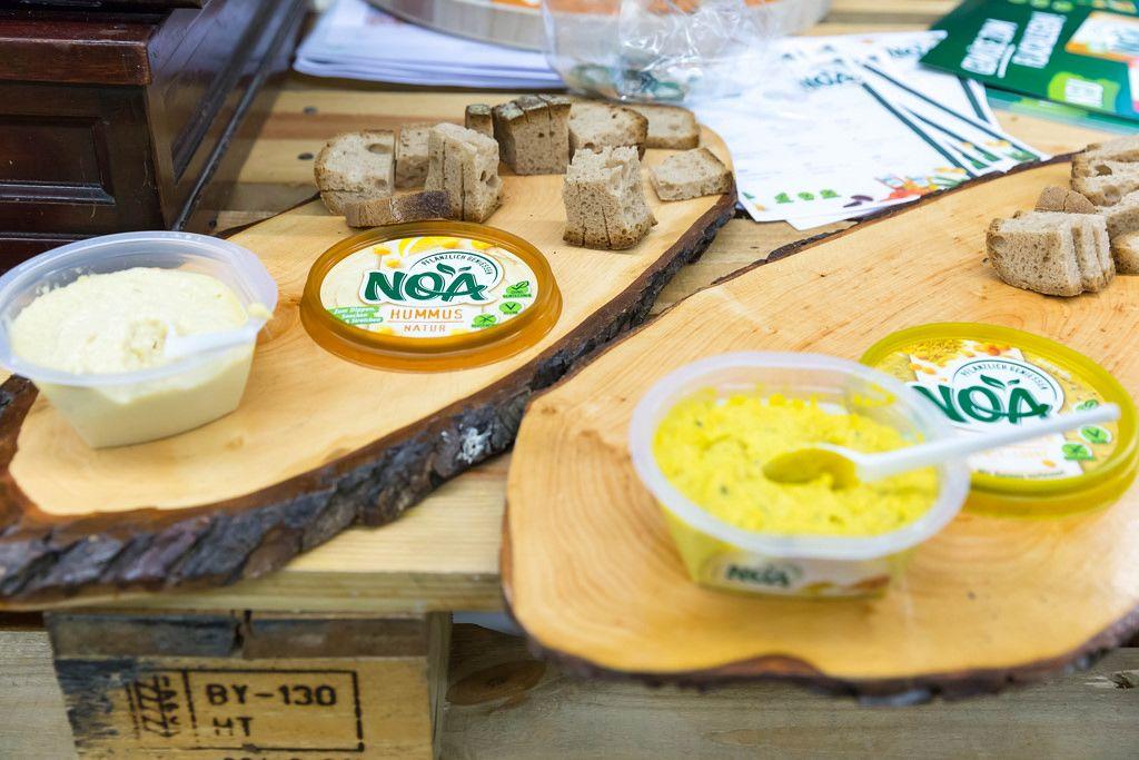 NOA Aufstrich Hummus-Natur