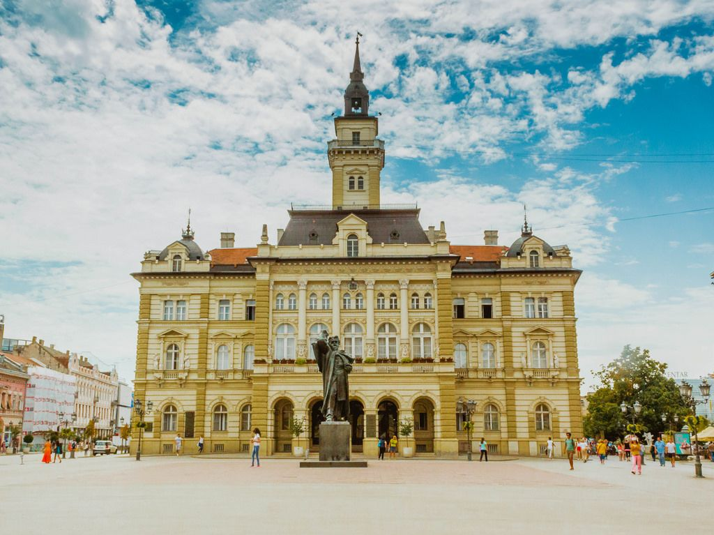 Novi Sad city centre