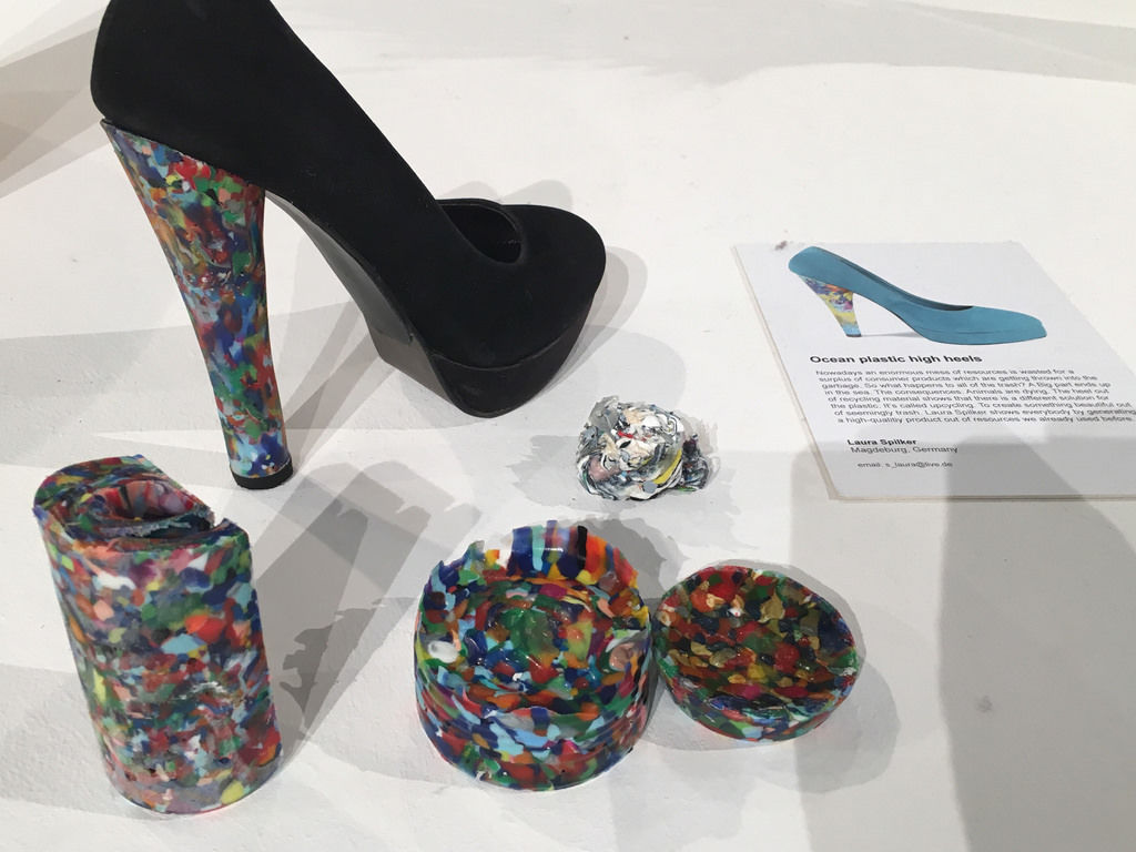 Ocean Plastic High Heals