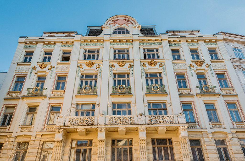 Old building in Brno, Czech Republic
