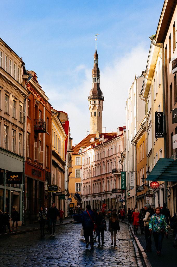 Old city's street / Alte Stadtstraße
