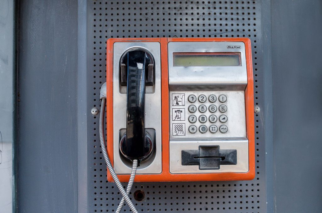 Old payphone (Kartentelefon)