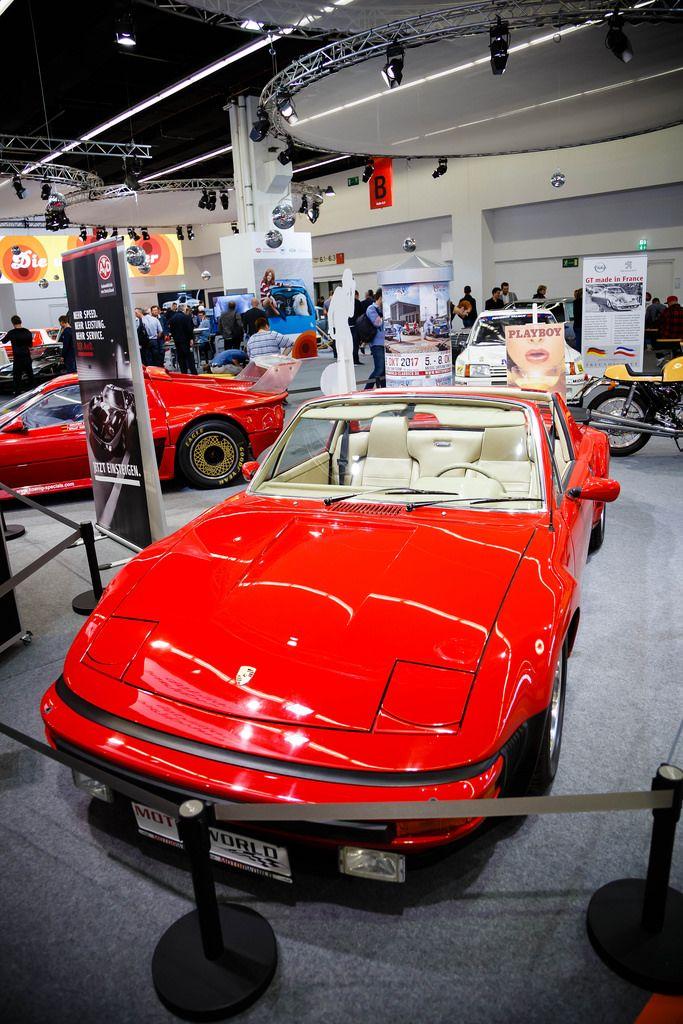 Oldtimer VW-Porsche 914/6 auf der Ausstellung