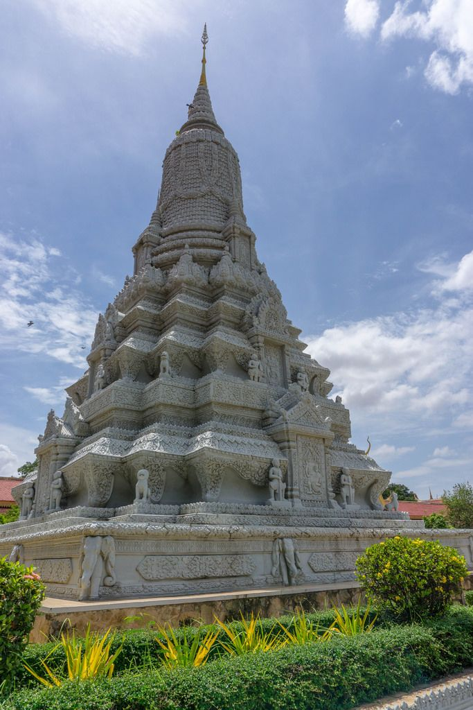 One of many Royal Palace Stupas in Phnom Penh
