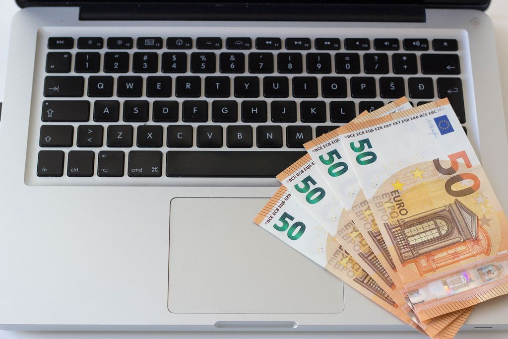 Online-Bezahlung in Euro